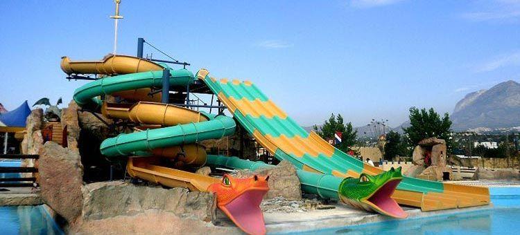 hoteles con toboganes en Costa Azahar