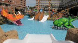 hoteles con toboganes en Lloret de Mar
