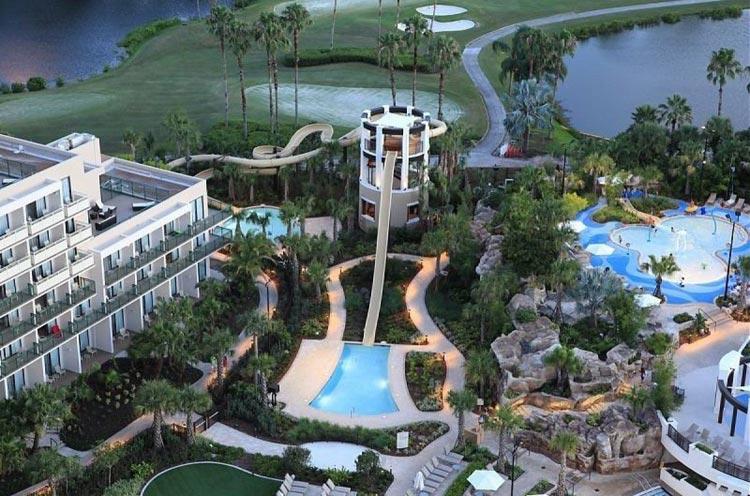 mejores hoteles con parque acuático del mundo: Orlando water center