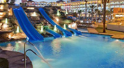 Hoteles con toboganes en roquetas de mar - Hotel piscina toboganes para ninos ...