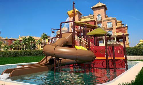 Hoteles con toboganes en costa del sol hoteles con for Hoteles en ronda con piscina
