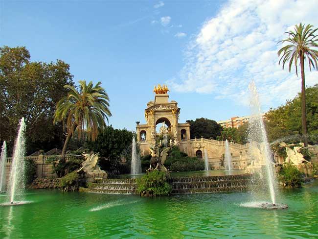 El Parque de la Ciutadella