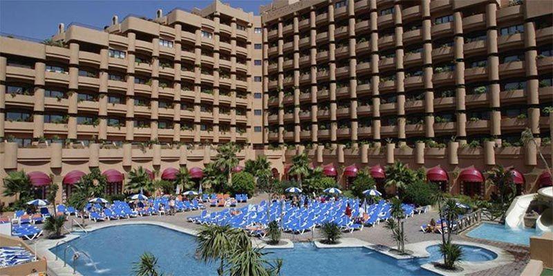 hoteles con toboganes en Granada: Almuñecar Playa Spa Hotel