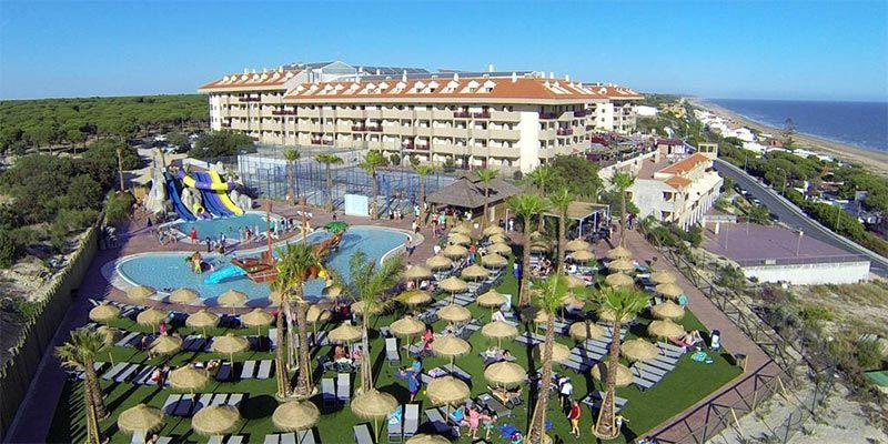 hoteles con toboganes en Cádiz Costa de la Luz Ohtels Mazagon