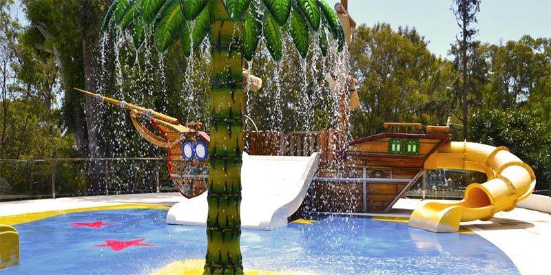 hoteles con toboganes en torremolinos Hotel Roc Costa Park
