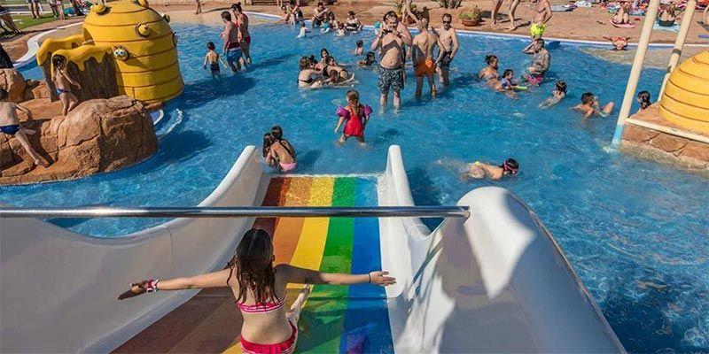 hoteles con toboganes en Peñiscola Spa Natura Resort