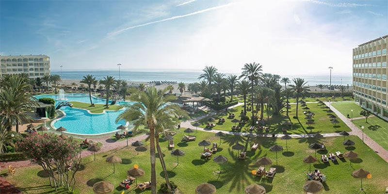 hoteles con toboganes roquetas de mar Evenia Zoraida Resort
